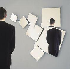 original espejo pared diseño moderno