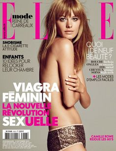 Cover - Best Cover Magazine  - Camille Row by nicolas moore for elle france 13th September 2013...   Best Cover Magazine :     – Picture :     – Description  Camille Row by nicolas moore for elle france 13th September 2013  -Read More –