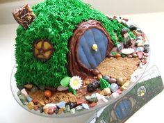 Hobbit Hole cake-- A Tolkien Twelfth Birthday