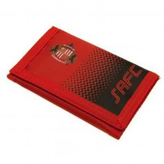 669632583d14 Sunderland A. - velcro nylon wallet- zip pocket- approx x closed- on a  header card- official licensed productShipped from UK