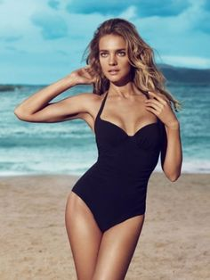 The new campaign from French retailer Etam brings several modern and classy swimsuits