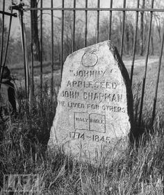 pinterest ohio history | Obit of the Day (Historical): Johnny Appleseed (1845)An early American ...