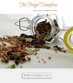 Home-made Pickling Spice | Frugal Hausfrau