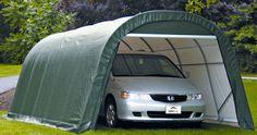 All Weather-Shield Portable Carport Shelter kits   hiscoshelters.com   DIY Do-it-yourself carport kits
