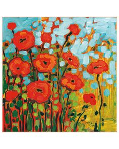 McGaw Graphics 'Red Poppy Field' by Jennifer Lommers