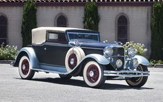 1931 Lincoln Model K Convertible Victoria with custom coachwork by Waterhouse & Co. ""