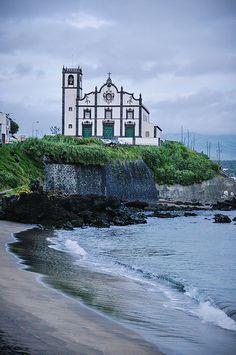 Igreja de São Roque,  São Miguel, Azores, Portugal -  by Gail Edwin Aguiar