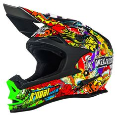 Casco Bell 9 Carbono Flex Max Motocross Cross Atv Fas Motos
