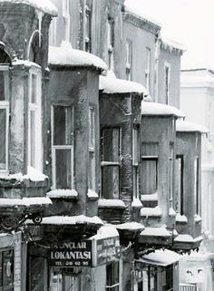 I did not know it snowed in Turkey...