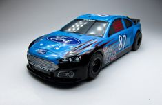 Tomy AFX Mega-G Ford Fusion Stock Car #87 HO Scale Slot Car Rare HTF New   eBay