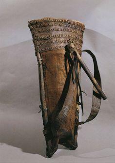 Austria Hallstatt Leather bag for working in the salt mine Fotografía de noticias 122321324   Getty Images