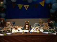Main table - teddy bear theme party