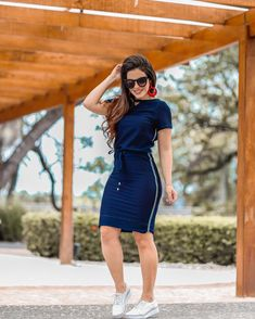 Plus size outfits Casual Work Outfits, Dope Outfits, Simple Outfits, Skirt Outfits, Trendy Outfits, Casual Dresses, Fashion Outfits, Womens Fashion, Skirt And Sneakers