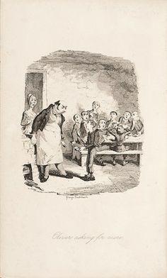 DICKENS, Charles. Oliver Twist.  Bradbury & Evans, Whitefriars, 1846. #literature