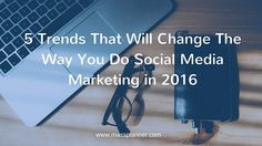 ▲ Take a look at these trends to provide help to have great results with your social media networking this year! ☻ ☃