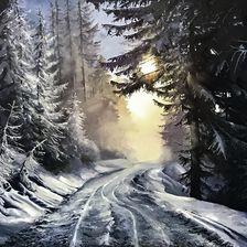 """Morning. Day. Evening."",  oil, canvas 100х70"