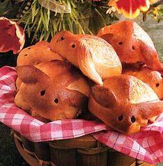 Bajaderki drożdżowe zajaczki z glazurą miodową - cincin.cc - witaj w krainie inspiracji smaku Potatoes, Chicken, Meat, Vegetables, Food, Potato, Essen, Vegetable Recipes, Meals
