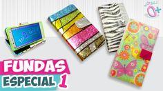DIY✔ FUNDAS CASERAS para Celular - Papel y Hule (Especial 1) ★Así o más ...