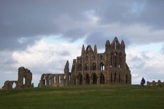 Whitby Abbey from the car park 2004 Whitby Abbey, Cathedral Church, The Beautiful Country, North Yorkshire, Car Parking, Great Britain, Barcelona Cathedral, Maps, England
