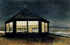 Andrew Wyeth 'Two if by Sea' 1995