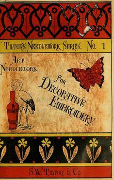 """Art Needlework For Decorative Embroidery"" (1879) - Online Vintage Instruction Booklet"