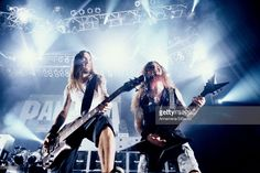 Rex Brown & Dimebag Darrell at the San Diego in San Diego, California