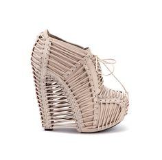 Iris van Herpen X United Nude Crystallization Crystallization Bisque Nappa | United Nude Shoes SS13