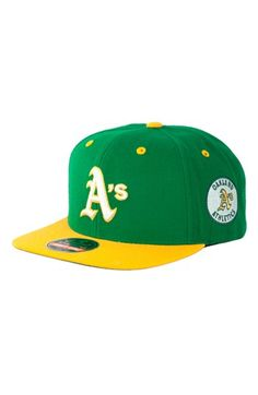 American Needle 'Oakland Athletics - Blockhead' Snapback Baseball Cap available at #Nordstrom