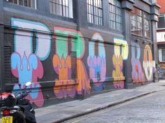 Graffiti; London's East End