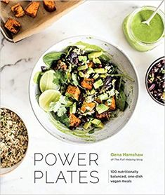 """Read """"Power Plates 100 Nutritionally Balanced, One-Dish Vegan Meals [A Cookbook]"""" by Gena Hamshaw available from Rakuten Kobo. Focused on the art of crafting complete, balanced meals that deliver sustained energy and nourishment, this book feature. Whole Food Recipes, Vegan Recipes, Vegan Meals, Vegan Food, Delicious Recipes, Cooking Recipes, Vegan Vegetarian, Bulgur Recipes, Cooking Bacon"""