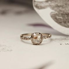 Beautiful Imperfection / Handcrafted Engagement Ring / Wedding Style Inspiration / LANE