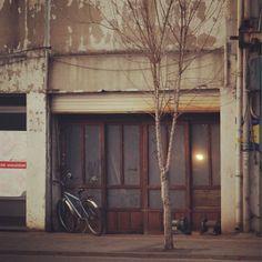 csh153 / #빈티지#영등포#nx200#서울 / 영등포주변에 오래된가게가 참많더라고 / 서울 영등포 / #골목 #문 #식물 / 2014 01 19 /
