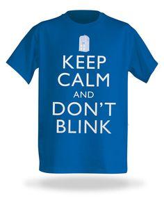 ThinkGeek :: Keep Calm and Don't Blink