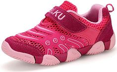 Poppin Kicks Girl's Breezy Two-Tone HandL Perforated Round Toe Slip-On Sneakers Pink 13 M US Little Kid -- Check this awesome product by going to the link at the image.