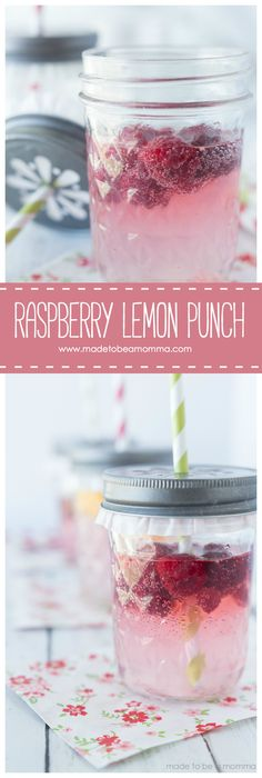 Raspberry Lemon Punch