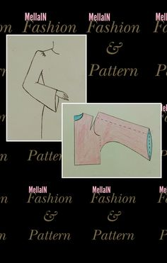 Dress Sewing Patterns, Blouse Patterns, Clothing Patterns, Pattern Cutting, Pattern Making, Pola Lengan, Sewing Sleeves, Dressmaker, Pattern Drafting