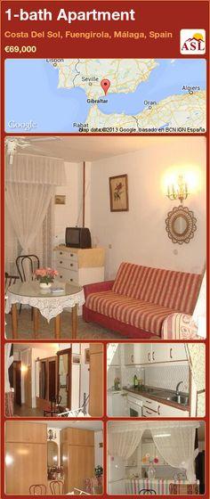 1-bath Apartment in Costa Del Sol, Fuengirola, Málaga, Spain ►€69,000 #PropertyForSaleInSpain
