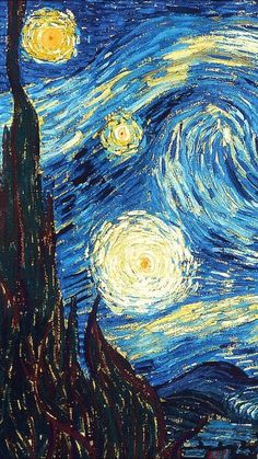 Van Gogh's paintings lockscreens Like or reblog if you save •please don't steal