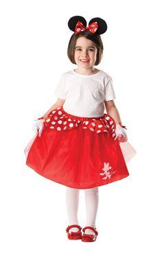 Детский красный набор Минни Маус