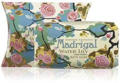 Claus Porto Deco Collection Soap + Salt Combo - Madrigal (Water Lily scent)