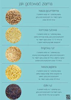 Jak gotować ziarna?