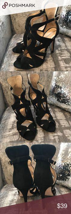 Zara black shoes Zara black shoes in very god condition Zara Shoes Heels