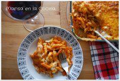 Marisa en la Cocina: Maccheroni al Forno - Macarrones al Horno