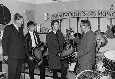 Liverpool, Rushworth's Music House 1962
