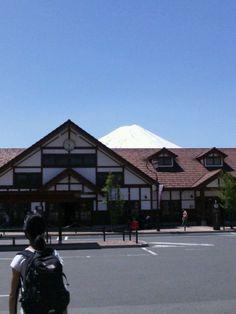 河口湖駅 (Kawaguchiko Sta.)(FJ18)