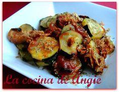 La cocina de Angie: CALABACÍN AL MICROONDAS