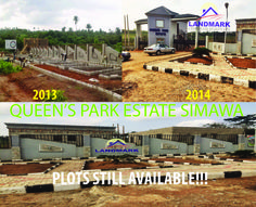 Success is a continuous journey... That is why we work tirelessly on improving our Estates... Visit http://lcrng.com/queens-park-simawa/ today to apply for a Plot of Land.