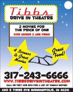 Tibbs Drive In Theatre  (South West Indy)