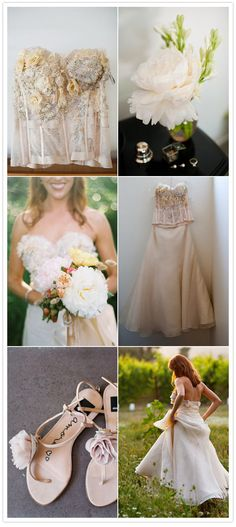 Love the Bodice, Love the Peony (duplicate as a sugar flower)