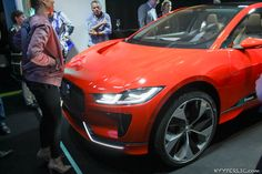 Bildergalerie: Jaguar I-PACE Elektroauto in Rot - http://hyyperlic.com/2017/06/bildergalerie-jaguar-i-pace-elektroauto-in-rot